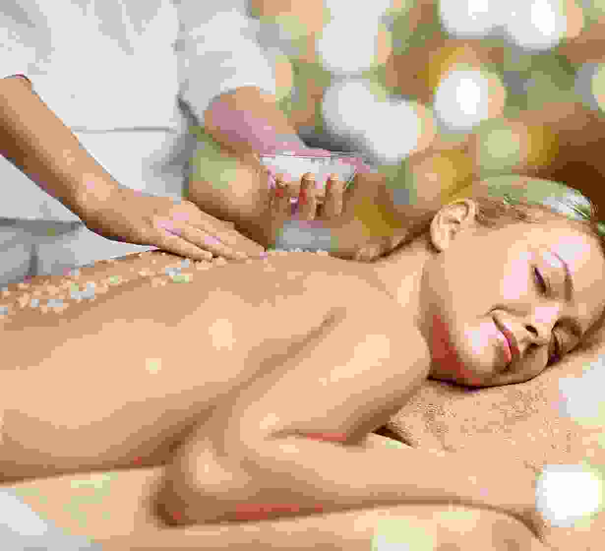Hot Poultice Massage